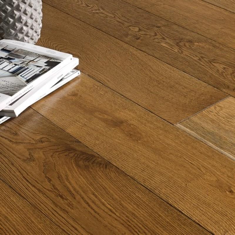 OFD Oak Jupiter Brushed and Lacquered Engineered Wood Flooring