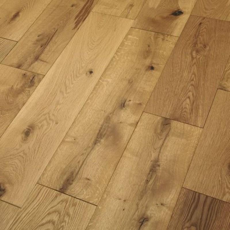 OFD Oak Neptune Brushed and Oiled Engineered Wood Flooring