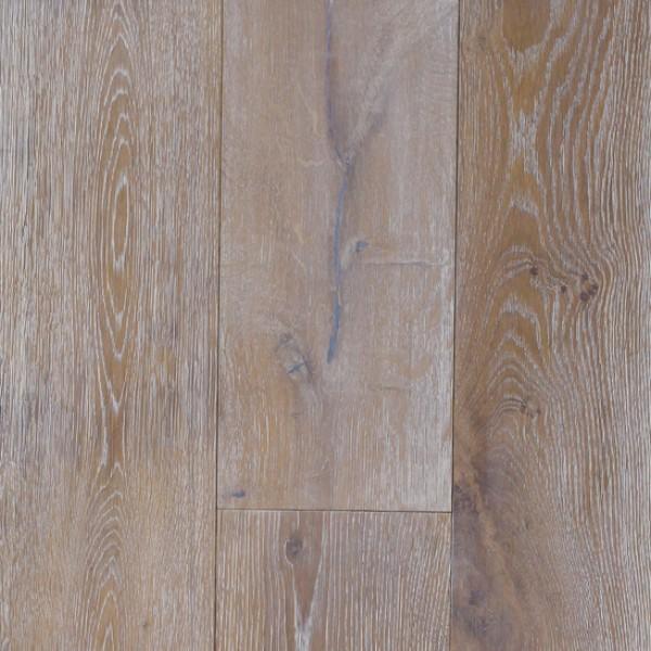 OFD Oak Gabriella Smoked Brushed & White Oiled Engineered Wood Flooring