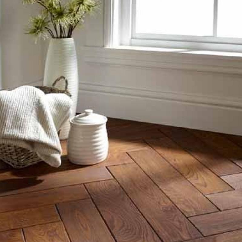 OFD Oak Lambrook Oiled Engineered Herringbone Flooring