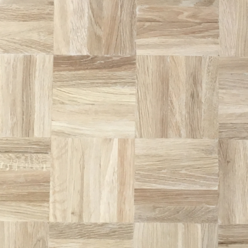 OFD Oak Mosaic Unfinished Solid Rustic Panel