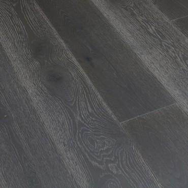 OFD Oak Oliver Grey Brushed Matt Lacquered Engineered Wood Flooring (D)