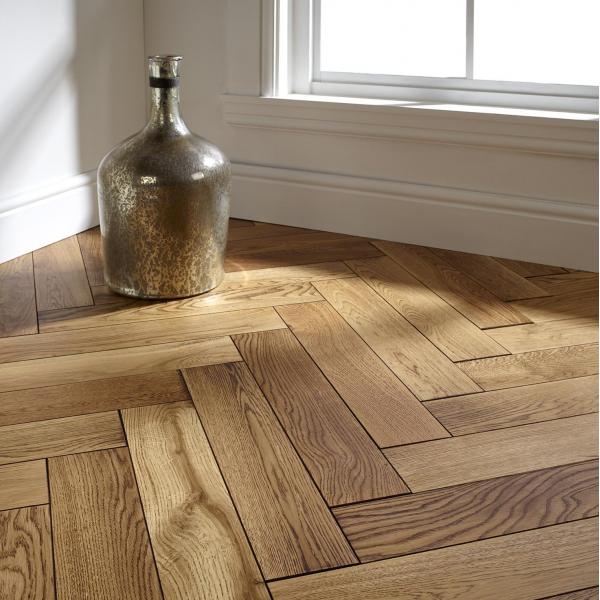OFD Oak Paxton Oiled Engineered Herringbone Flooring