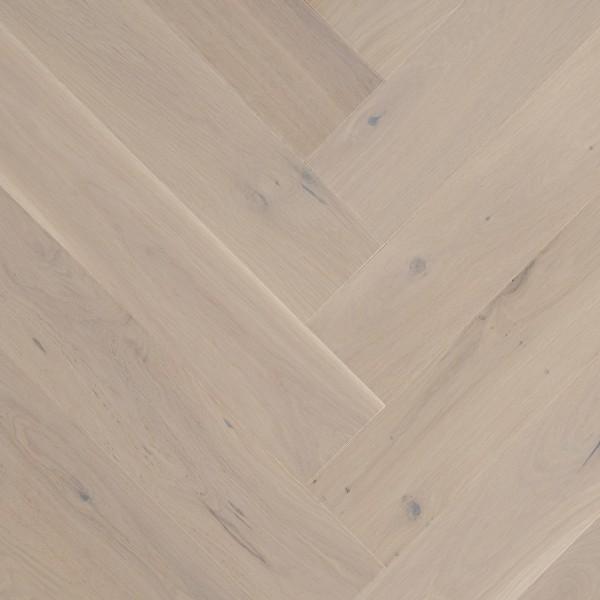 OFD Oak Snowdale Engineered Herringbone Wood Flooring