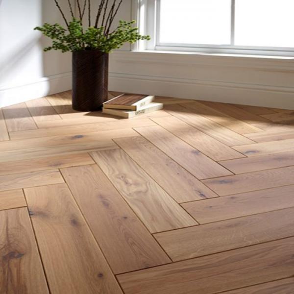 OFD Oak Uplands Oiled and Brushed Engineered Herringbone Flooring