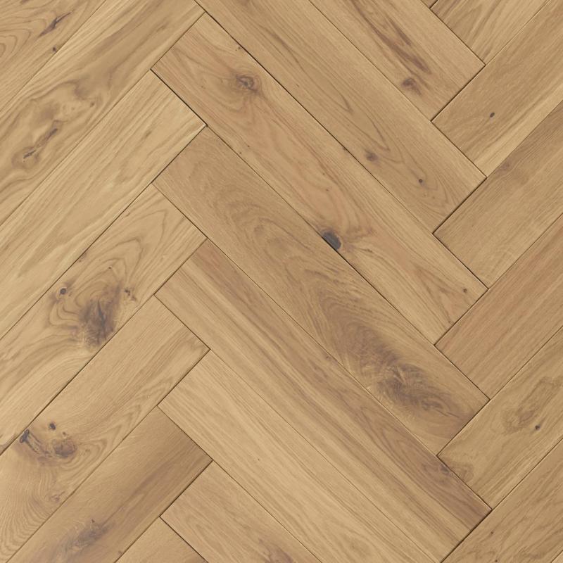 OFD Oak Watson Oiled Engineered Herringbone Flooring