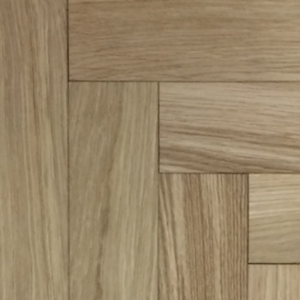 OFD Prime Oak Lacquered Engineered Herringbone Flooring