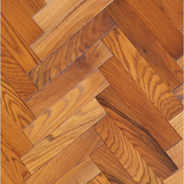 OFD Oak Carter Brushed and Fumed Oiled Engineered Herringbone Flooring