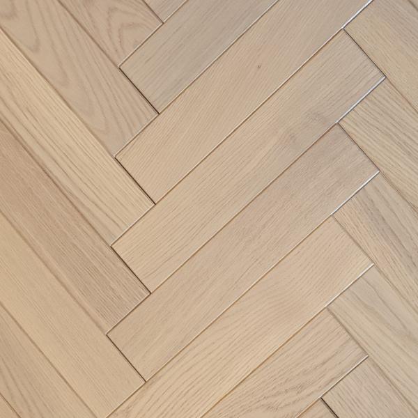 OFD Oak Dover Brushed and Oiled Engineered Herringbone Flooring