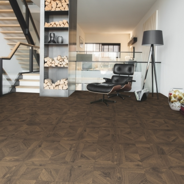 Quick-Step Impressive Patterns Royal Oak Dark Brown IPA4145