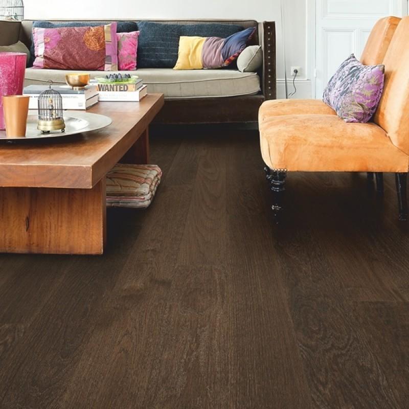Quick-step Castello Coffee Brown Oak CAS1352S Engineered Wood Flooring