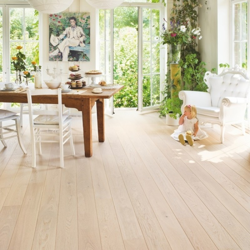 Quick-step Castello Polar Oak CAS1340S Engineered Wood Flooring