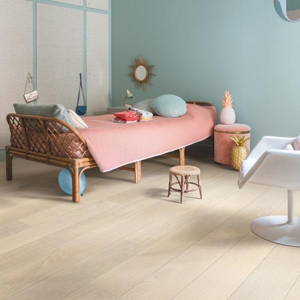 Quick-step Castello Snow White Oak CAS3884S Engineered Wood Flooring (D)