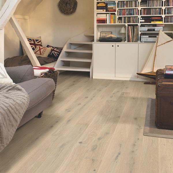Quick-step Compact Oak Himalayan White COM3098 Engineered Wood Flooring