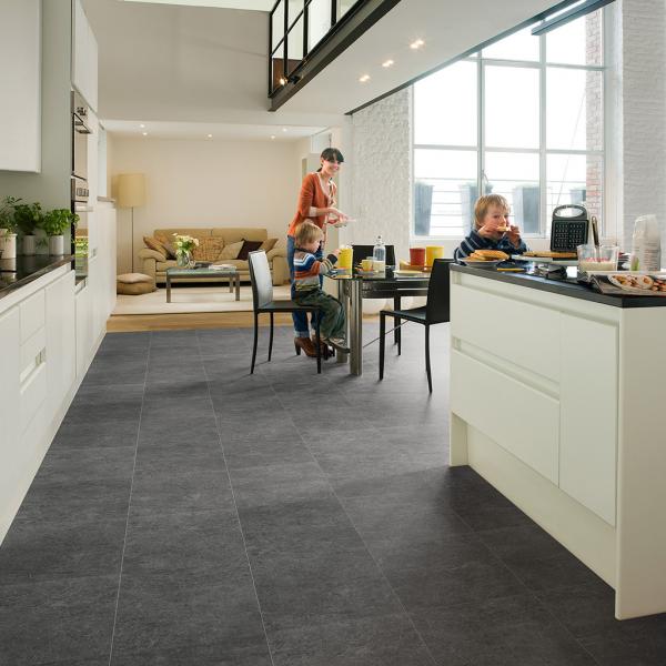 Quick-Step Exquisa Slate dark Laminate Flooring