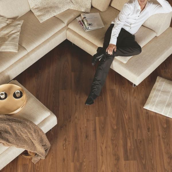 Quick-Step Eligna Hydroseal Oiled Walnut Laminate Flooring