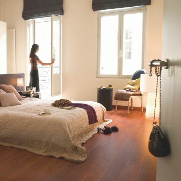 Quick-Step Eligna Hydroseal Merbau Red Brown Laminate Flooring