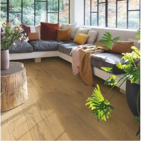 Quick-Step Dark Chestnut Oak Extra Matt Engineered Wood Flooring