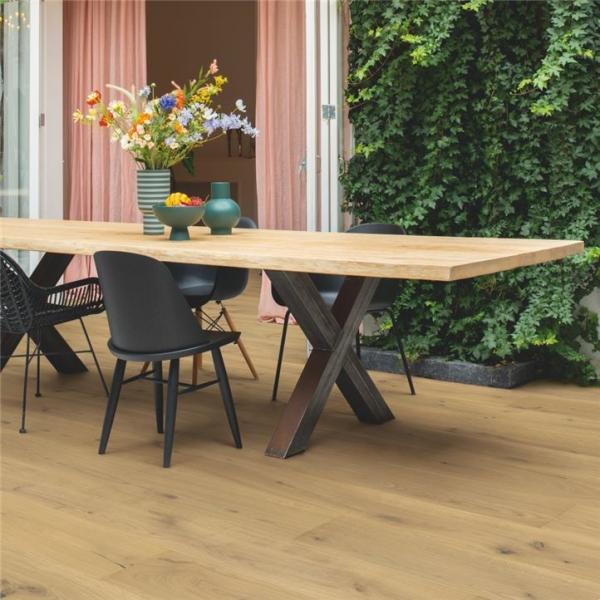 Quick-Step Palazzo Warm Natural Oak Extra Matt PAL5237S Engineered Wood Flooring