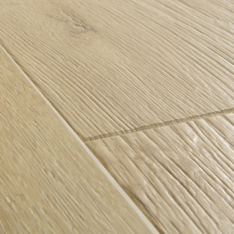quick step impressive sandblasted oak natural laminate flooring. Black Bedroom Furniture Sets. Home Design Ideas