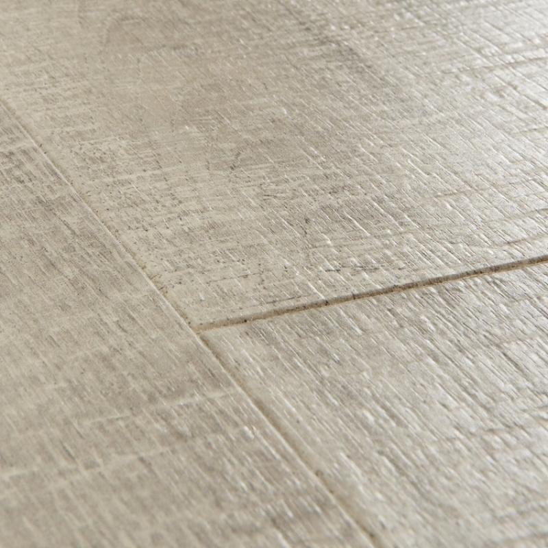 Quick step impressive saw cut oak grey laminate flooring for Quick step laminate flooring reviews