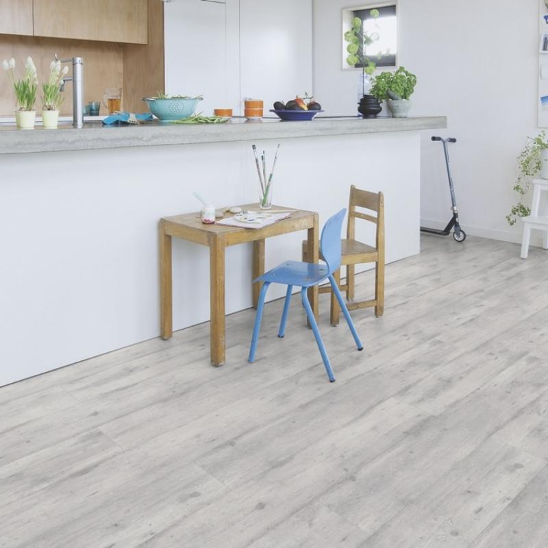 Quick Step Impressive Concrete Wood Light Grey Laminate
