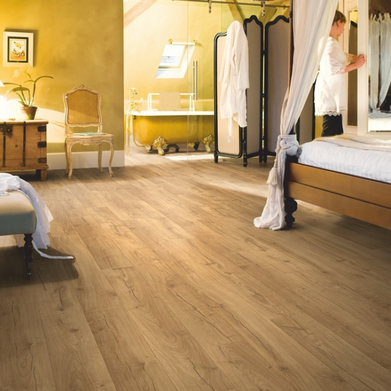Quick Step Impressive Classic Oak Natural Laminate Flooring