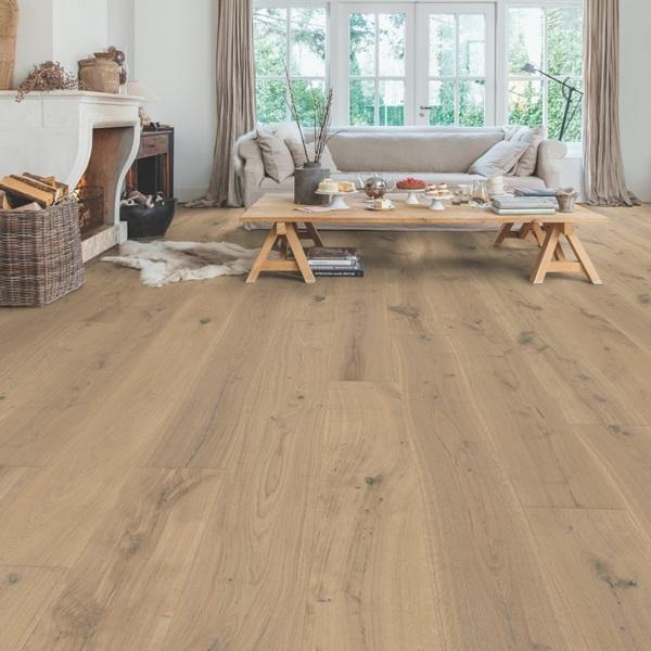 Quick-step Massimo Cappuccino Blonde Oak MAS3566S Engineered Wood Flooring