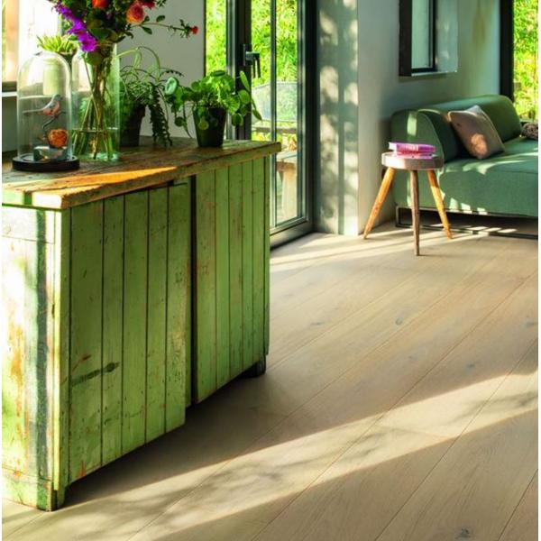 Quick-Step Imperio Angelic White Oak Extra Matt Engineered Wood Flooring