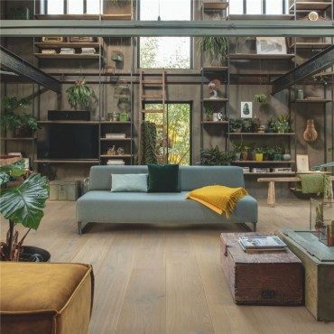 Quick-Step Massimo White Daisy Oak Extra Matt Engineered Wood Flooring MAS5102S
