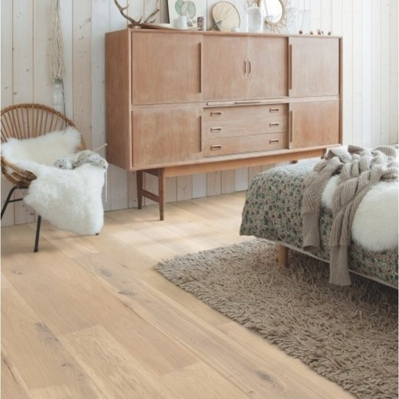 Quick-step Palazzo Almond White Oak Oiled PAL3014S Engineered Wood Flooring