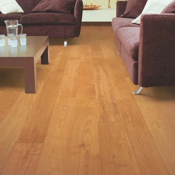 Quick-Step Perspective 4v Natural Varnished Cherry Planks Laminate Flooring (D) no longer available