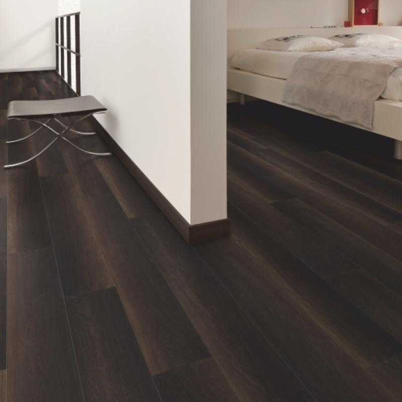 Quick Step Perspective Wide 4 Fumed Oak Dark Planks
