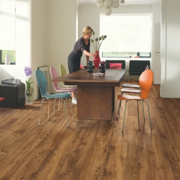 Quick-Step Perspective Wide 4 Reclaimed Chestnut Antique Planks Laminate Flooring (D) no longer available
