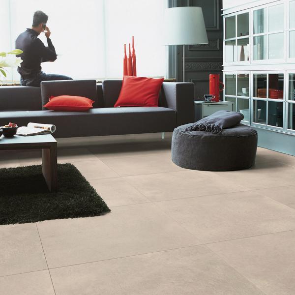 Quick-Step Arte Polished Concrete Natural Tile Laminate Flooring