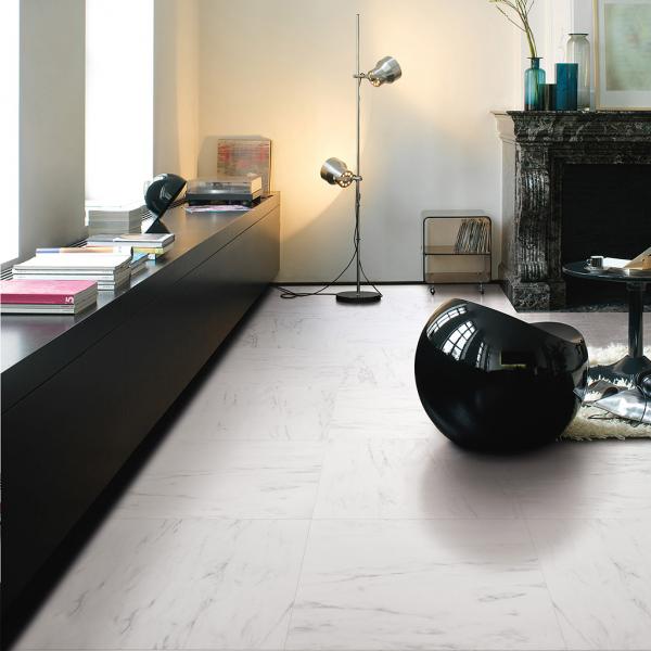 Quick-Step Arte Marble Tile Laminate Flooring