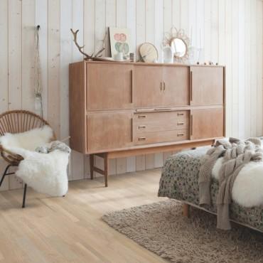 Quick-step Variano Seashell White Oak VAR3101S Engineered Wood Flooring (D)