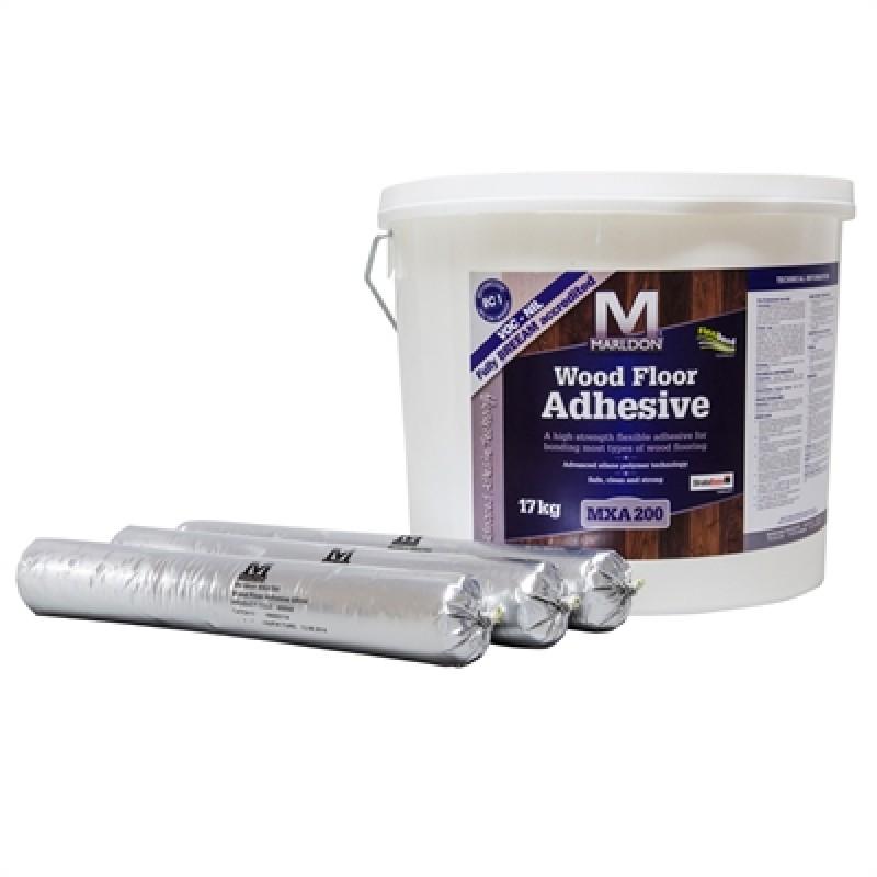 Marldon Woodfloor Adhesive 600ml Sausage