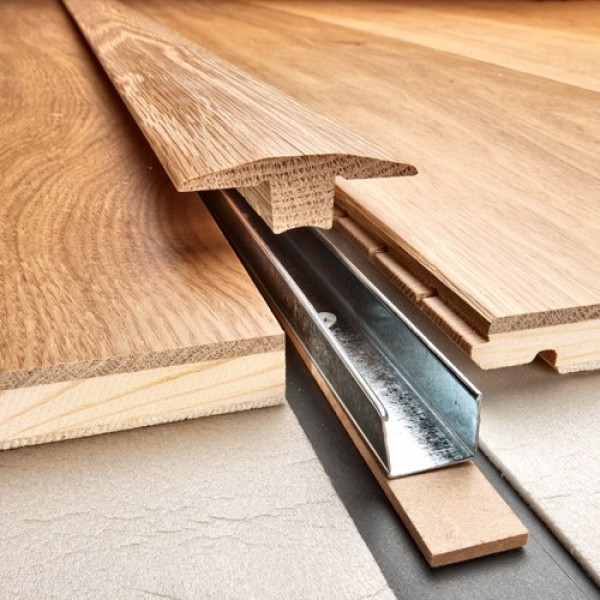 Kahrs Threshold T Section 2400mm(l) Rebated 15mm to suit Kahrs Original and Avanti Collections