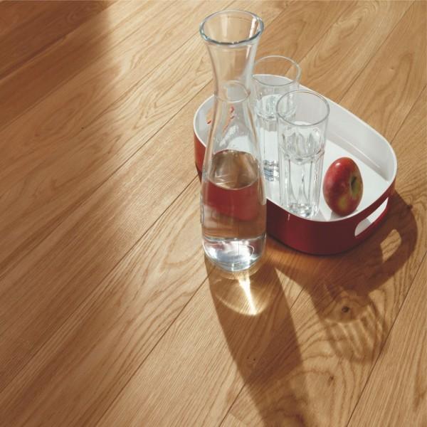 BOEN Oak Andante 1-Strip 181mm Micro Bevelled Live Natural Oil Brushed