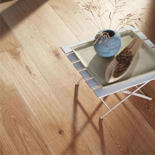 BOEN Oak Old Grey Chalet Plank 1-Strip Live Natural Oil Brushed (D)