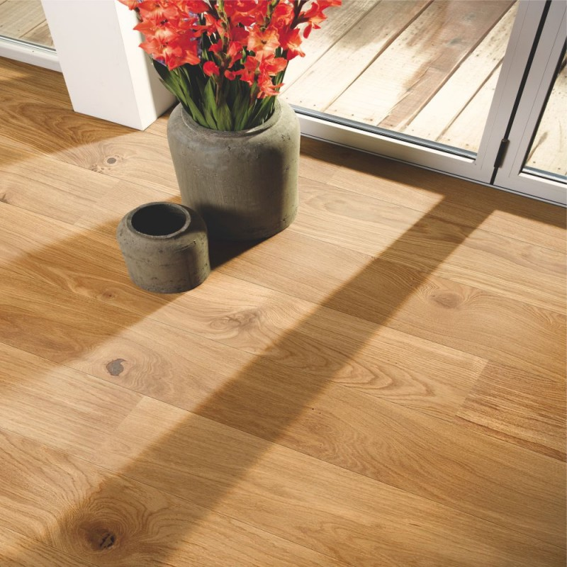 Boen Oak Vivo 1 Strip 181mm Micro Bevelled Matt Lacquered