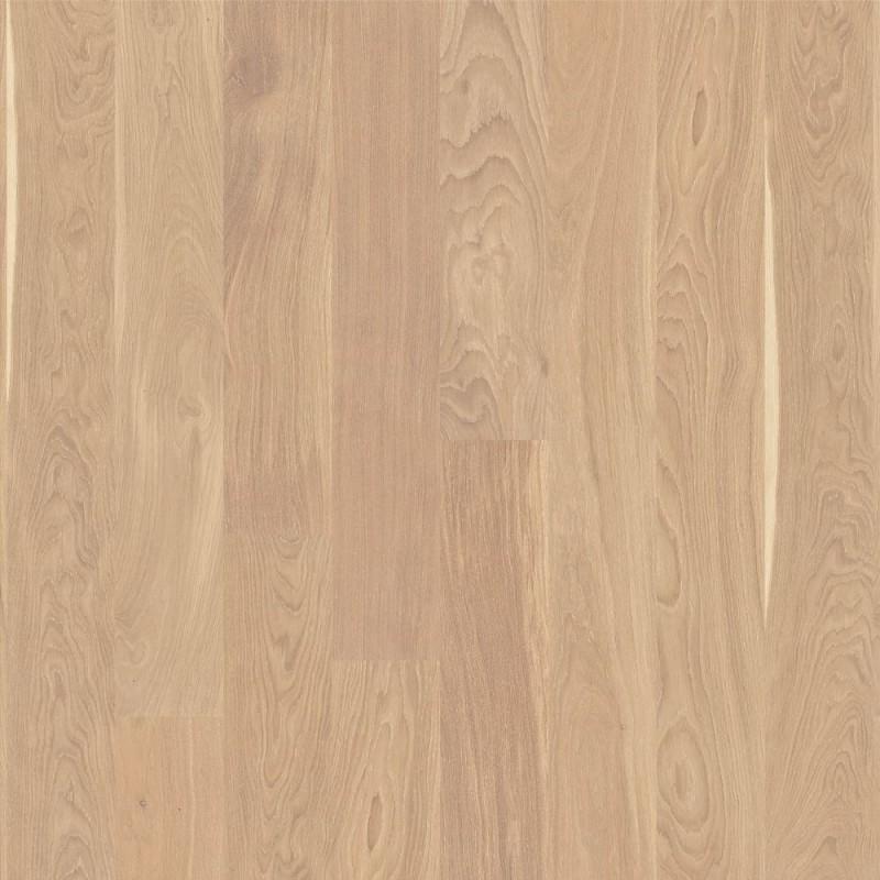 Boen Oak Andante White 1 Strip 138mm Micro Bevelled Matt Lacquered