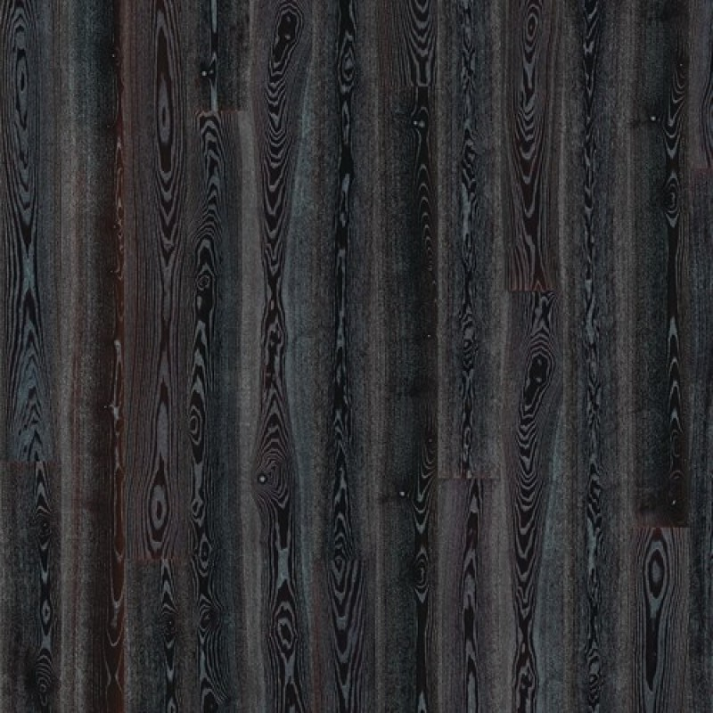 Kahrs Ash Black Silver High Gloss Lacquered Engineered Wood Flooring