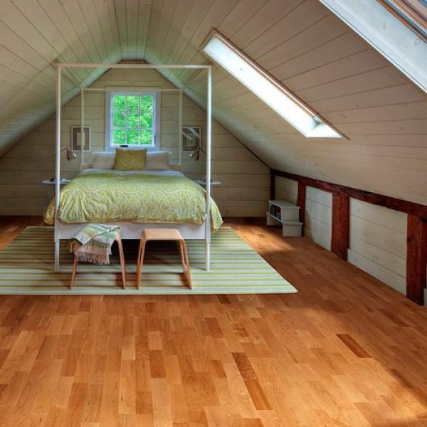 Kahrs Cherry Savannah Satin Lacquered Engineered Wood Flooring