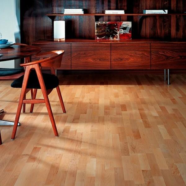 Kahrs Hard Maple Toronto Satin Lacquered Engineered Wood Flooring
