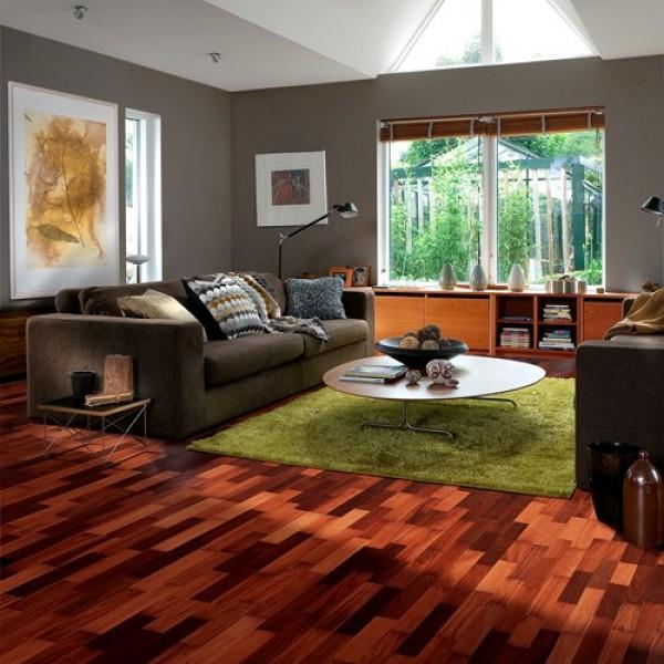Kahrs Jarrah Sydney Satin Lacquered Engineered Wood Flooring Limited Stock  (D)