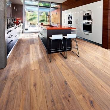 Kahrs Oak Concrete Oiled Engineered Wood Flooring
