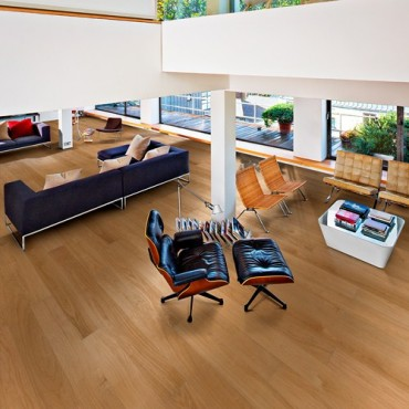 Kahrs Oak Dublin Satin Lacquered Engineered Wood Flooring (D)