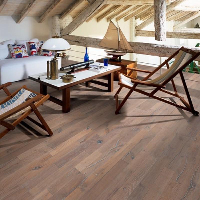 kahrs oak dussato 2 strip 190mm natural oil light smoked brushed handscraped bevelled. Black Bedroom Furniture Sets. Home Design Ideas